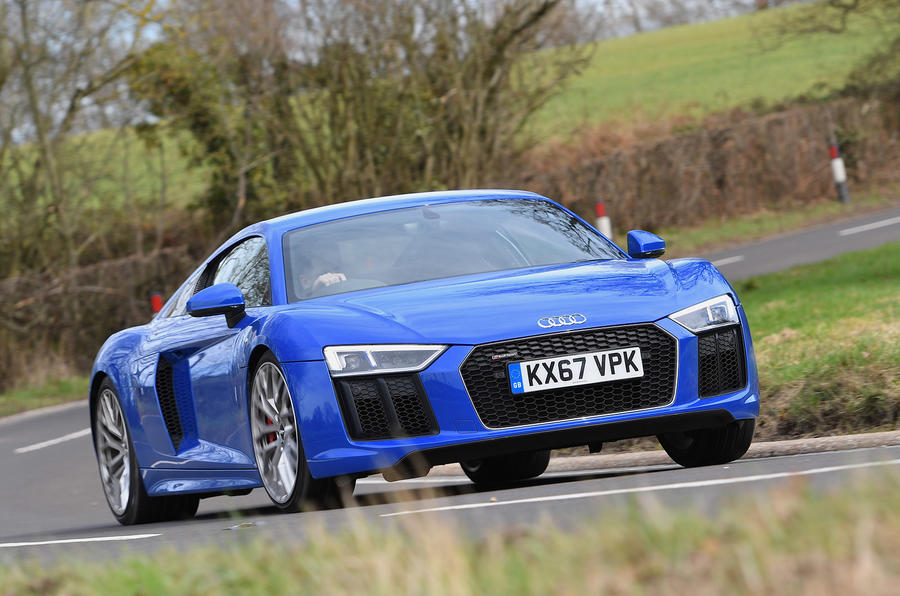 Audi R8 RWS 2018 UK review on the road