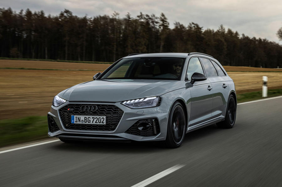 Audi RS4 Avant 2020 first drive review - hero front