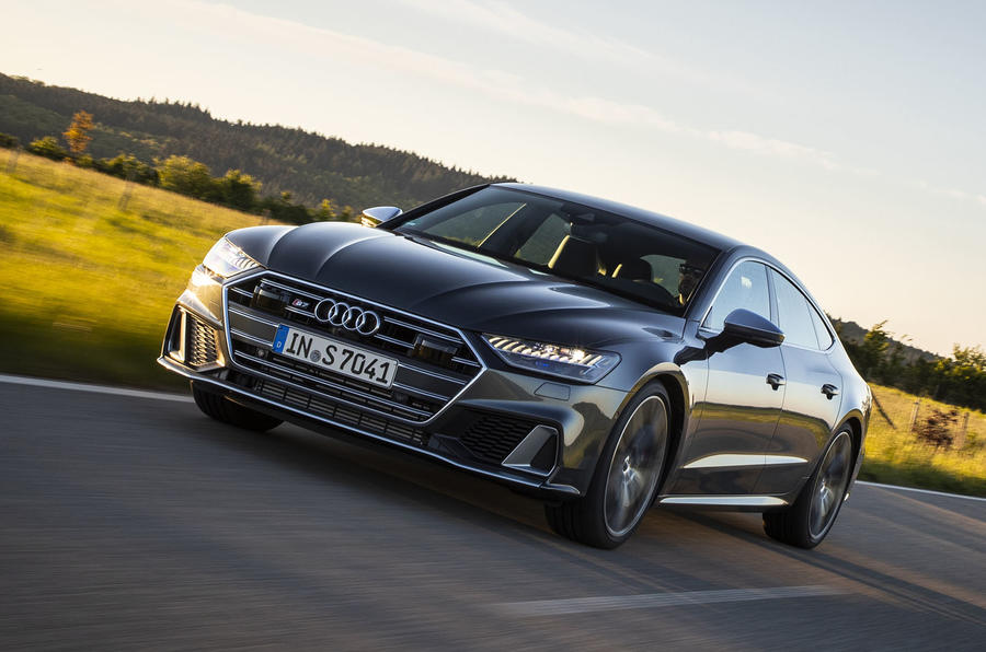 Audi S7 TDI 2019 first drive review - hero front