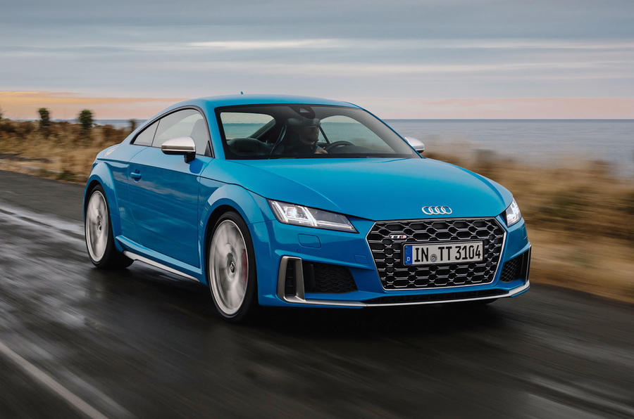 Audi TTS 2018 first drive review hero front