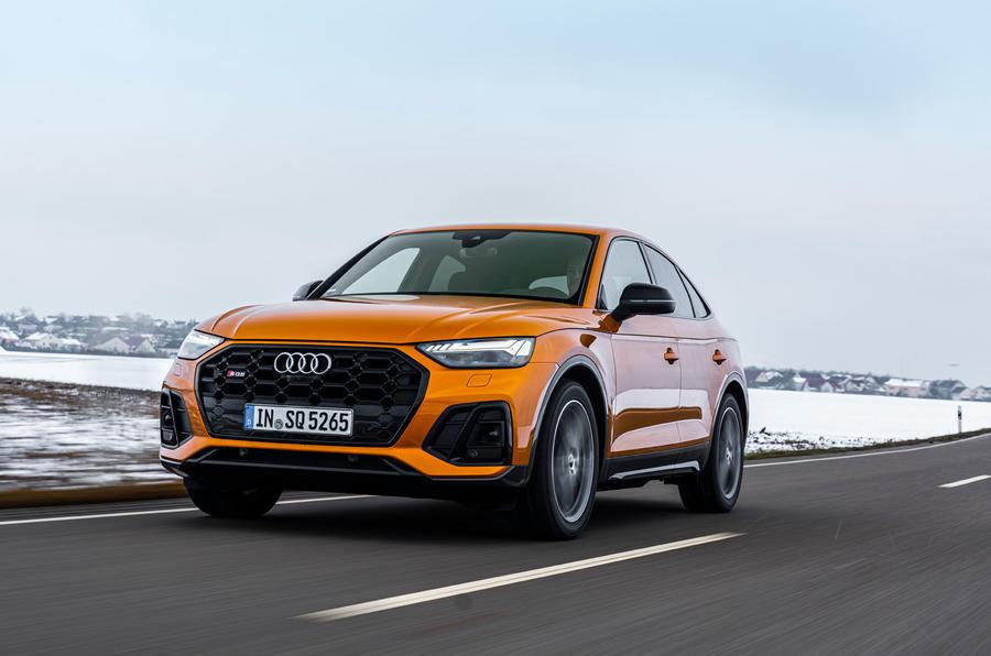1 Audi SQ5 2021 : le héros de la première revue de conduite