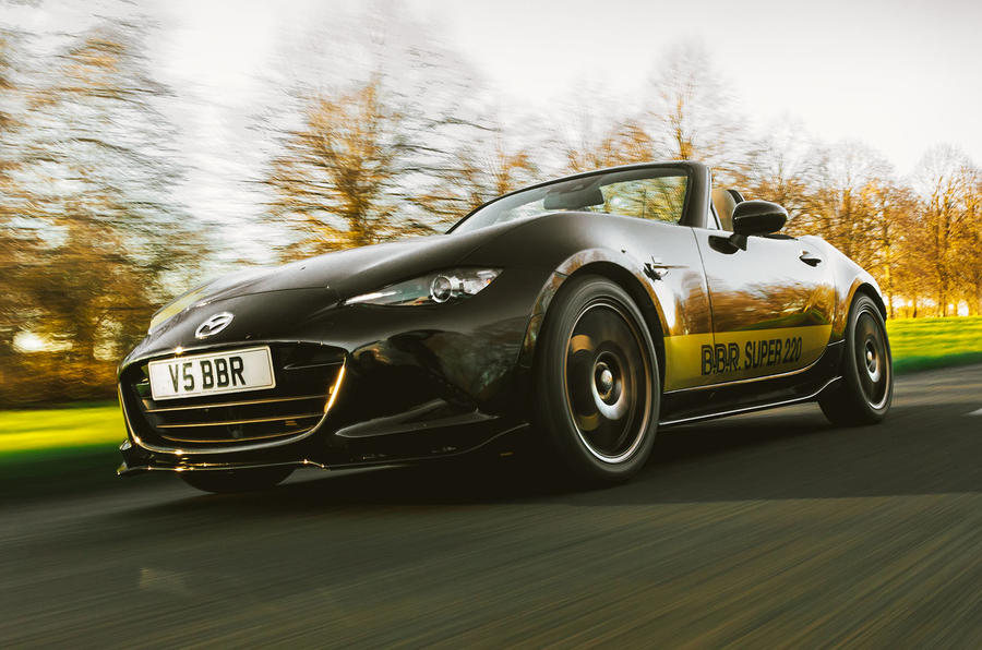 BBR GTI Mazda MX-5 Super 220 2020 UK first drive review - hero front