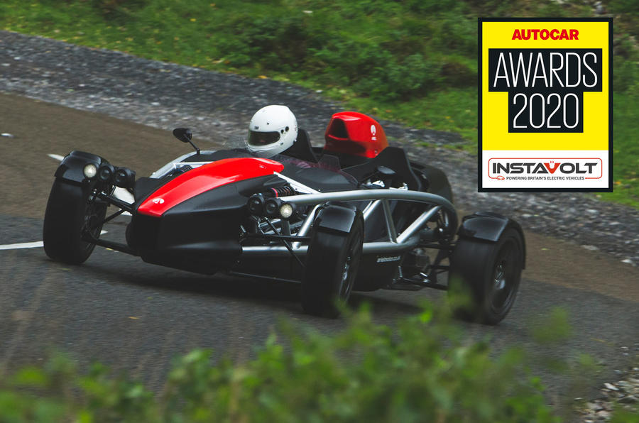 Autocar awards 2020: Ariel Atom 4 named Britain's Best Driver's Car