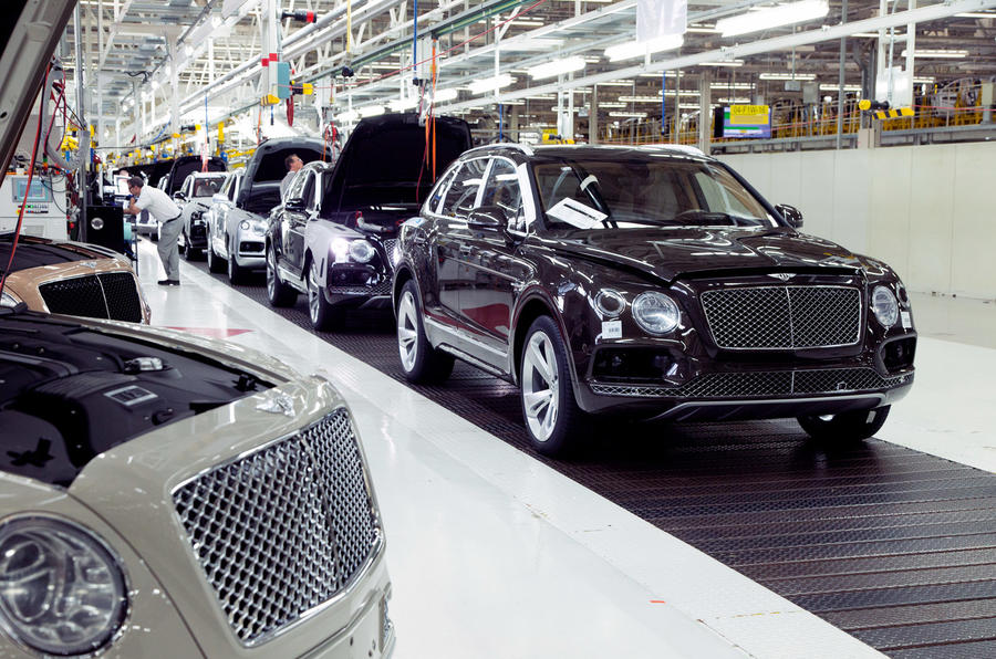 Bentley Crewe factory