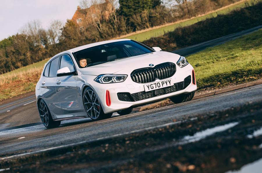1 BMW 1 Series 128ti 2021 : le premier bilan de conduite au Royaume-Uni