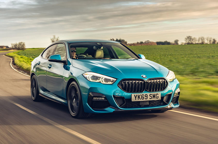 BMW 2 Series Gran Coupe 220d 2020 UK first drive review - hero front