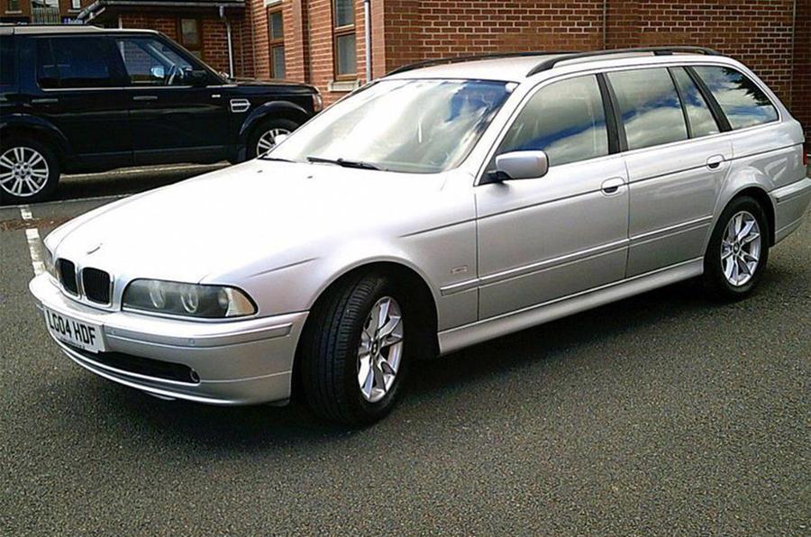 BMW 525i - front