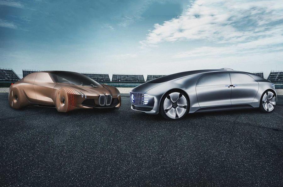BMW and Daimler autonomous driving