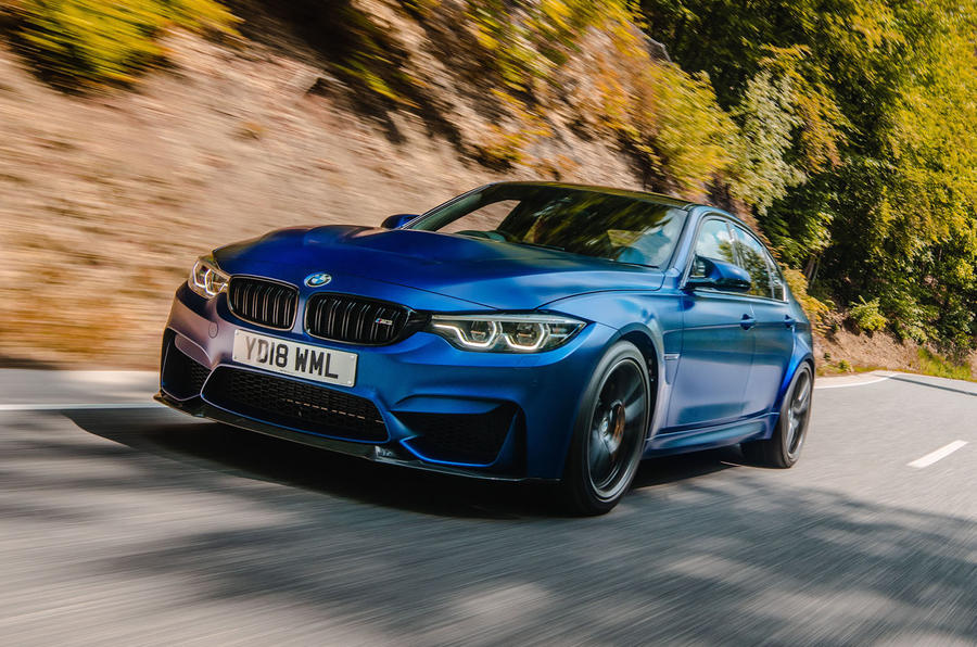 BMW M3 CS 2018 review hero front
