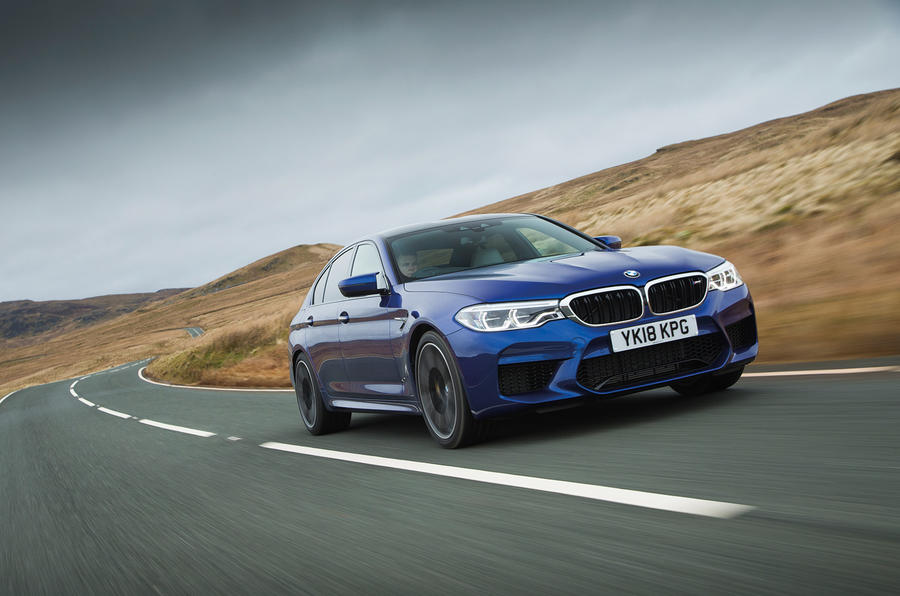BMW M5 2018 long-term review hero front