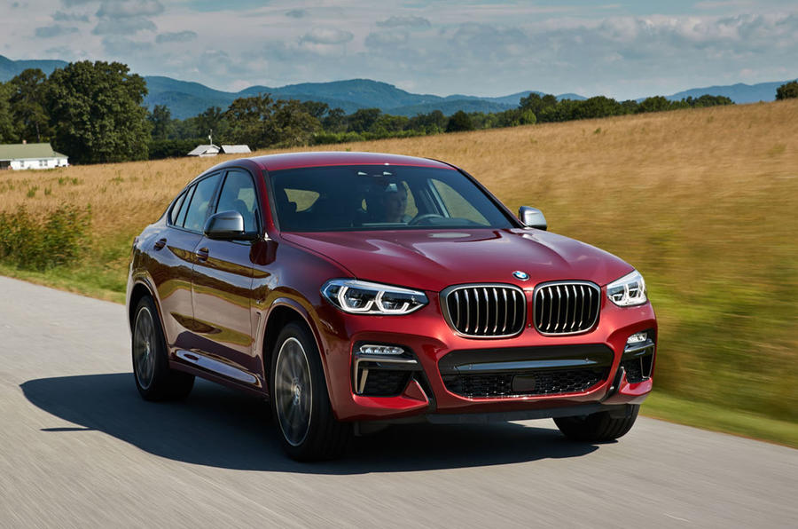 bmw x4 2018 review autocar. Black Bedroom Furniture Sets. Home Design Ideas