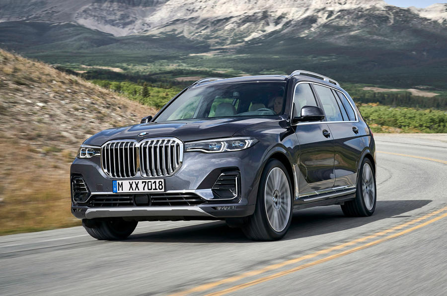BMW X7 2019 first drive review - hero front
