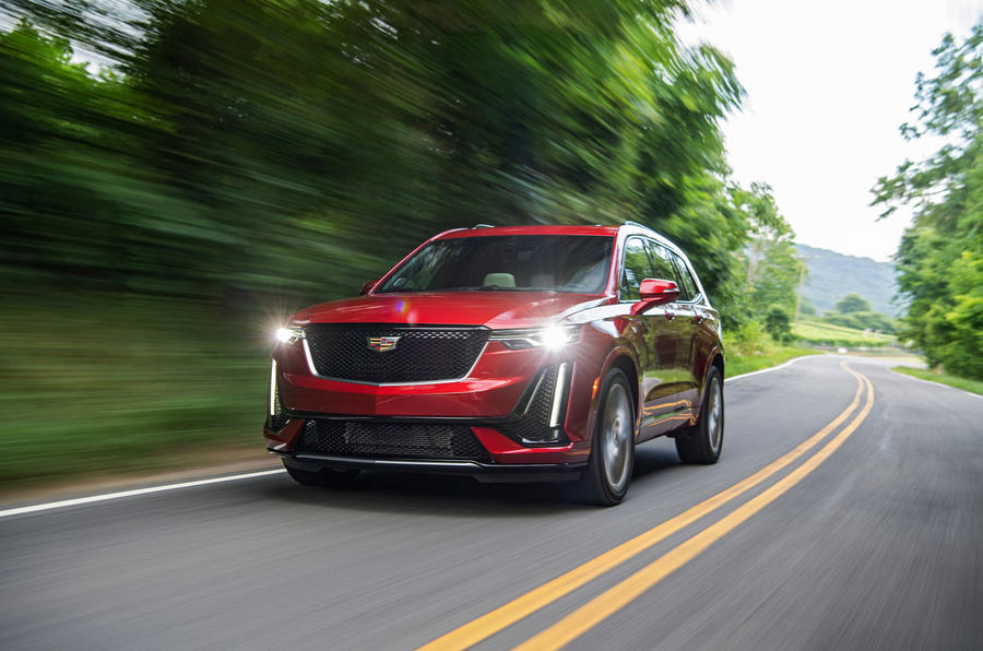 Cadillac XT6 Sport 2020 first drive review - hero front