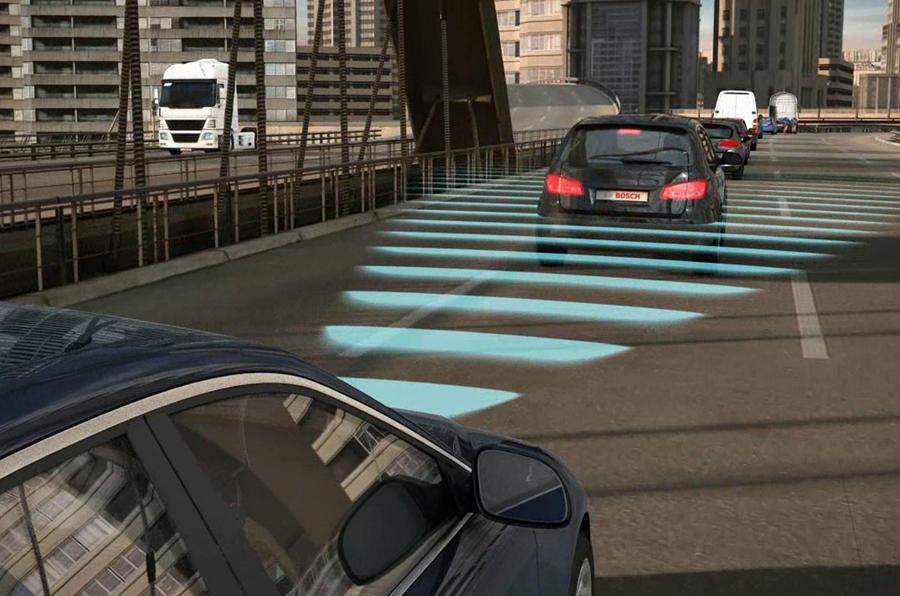 Radar brake assist
