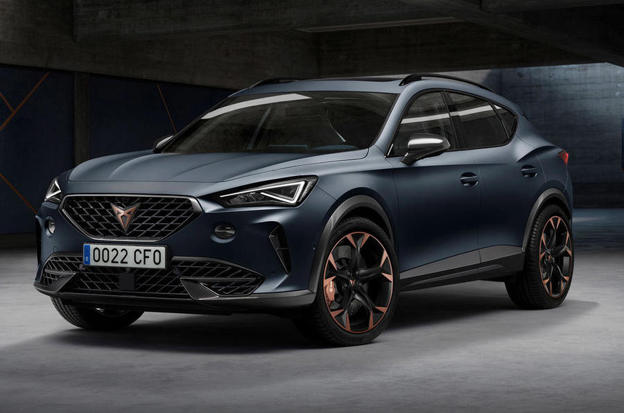 Cupra Formentor 2020 - static front