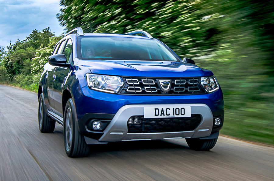 Dacia Duster Bi-Fuel 2020 UK first drive review - hero front