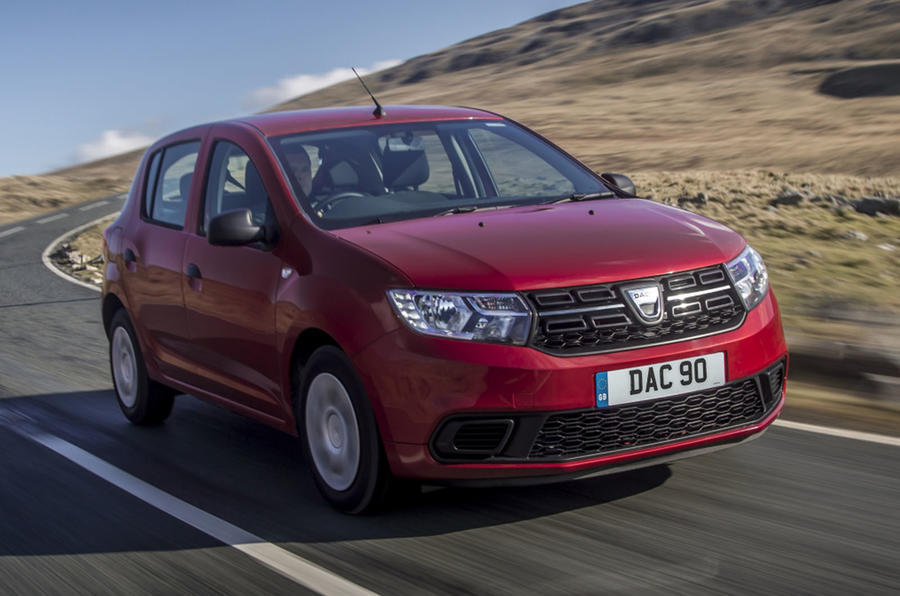 Top 10 city cars 2020 - Dacia Sandero