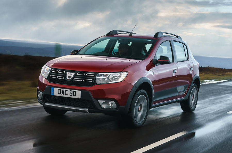 Dacia Sandero Stepway Techroad 2019 first drive review - hero front