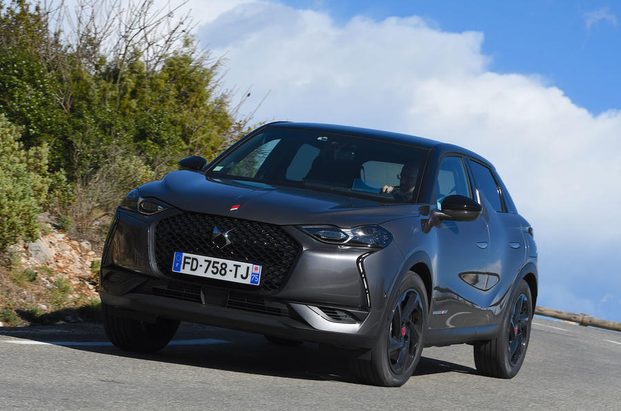 ds 3 crossback 2019 review autocar. Black Bedroom Furniture Sets. Home Design Ideas