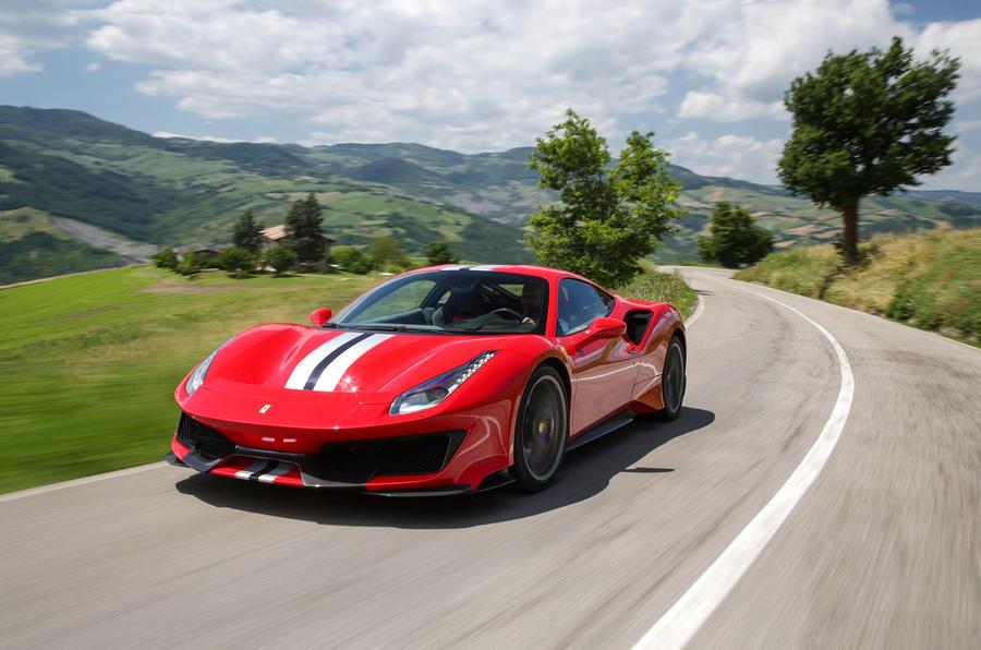 Ferrari 488 Pista 2018 review hero front