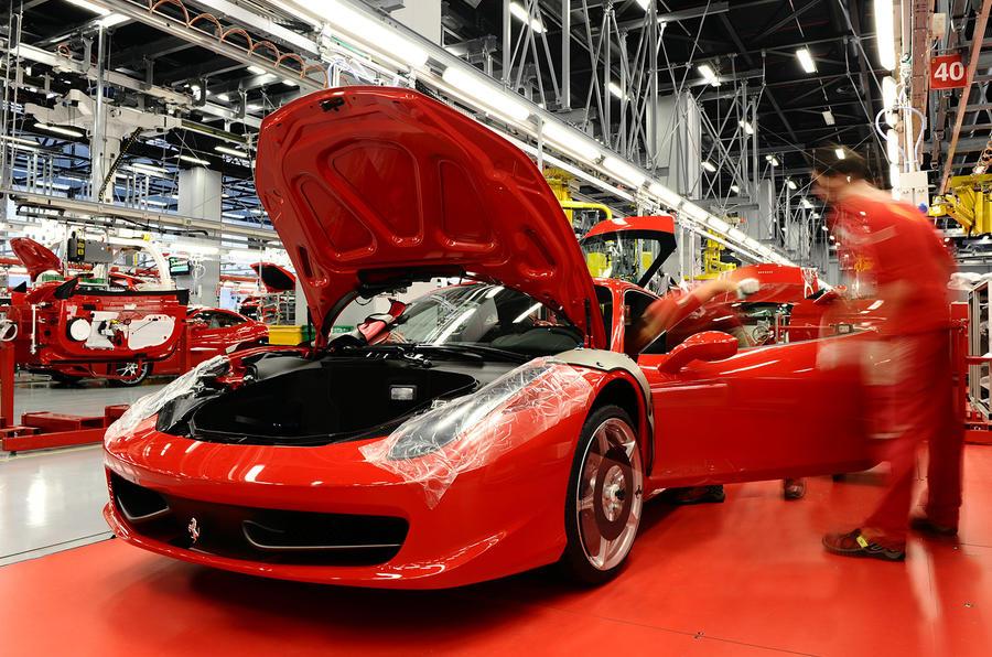 Ferrari Factory Operational Despite Coronavirus Restrictions Autocar