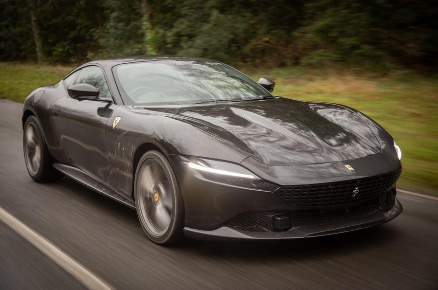 Ferrari Roma 2021 : premier examen de conduite au Royaume-Uni - le front des héros