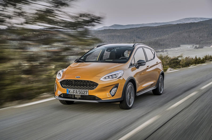 Ford Fiesta Active 2018 review hero front