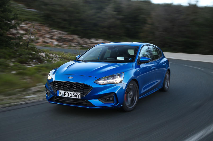 Ford Focus 2018 first drive review hero front