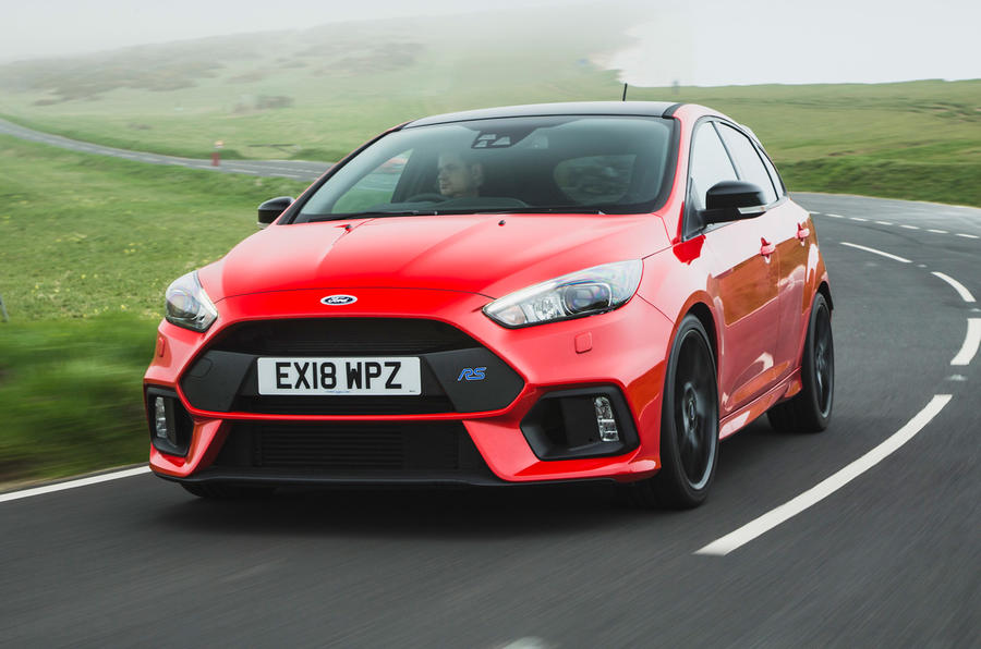 Ford Focus RS Race Red Edition front