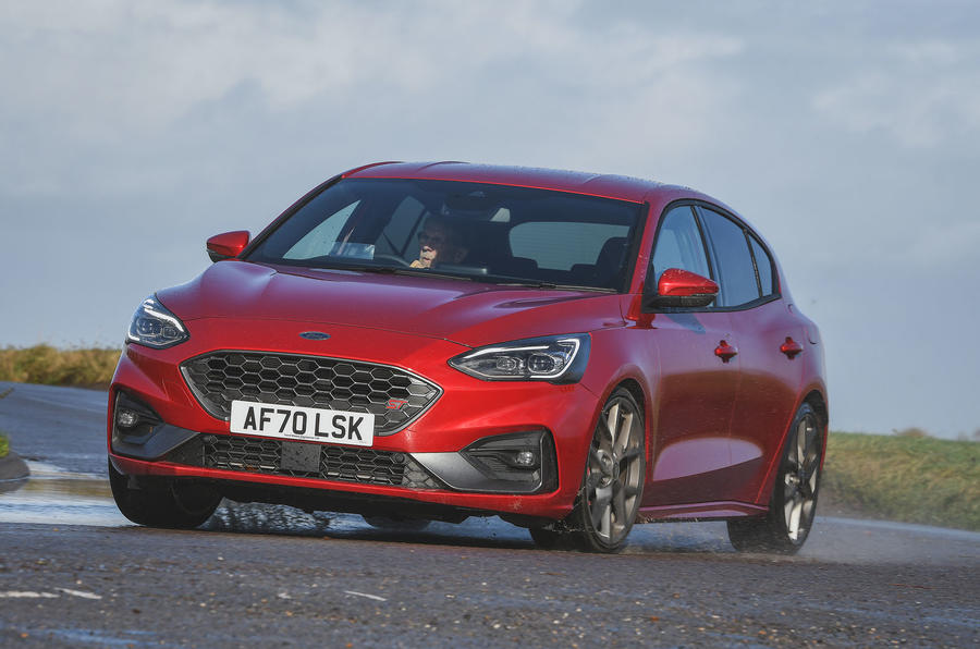 Ford Focus ST automatic 2020 UK first drive review - hero front
