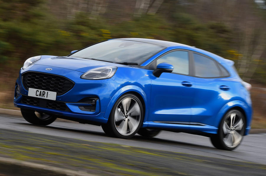 Ford Puma ST Line X 2020 UK first drive review - hero front
