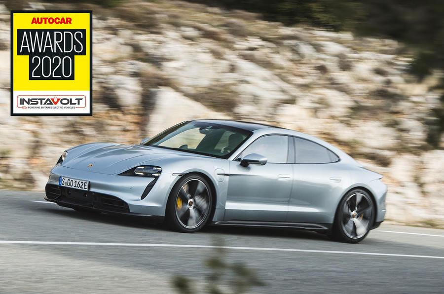 Autocar Awards 2020: Game changers - Porsche Taycan