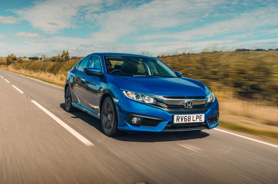 Honda Civic Saloon 2018 UK First Drive Review Hero Front ...