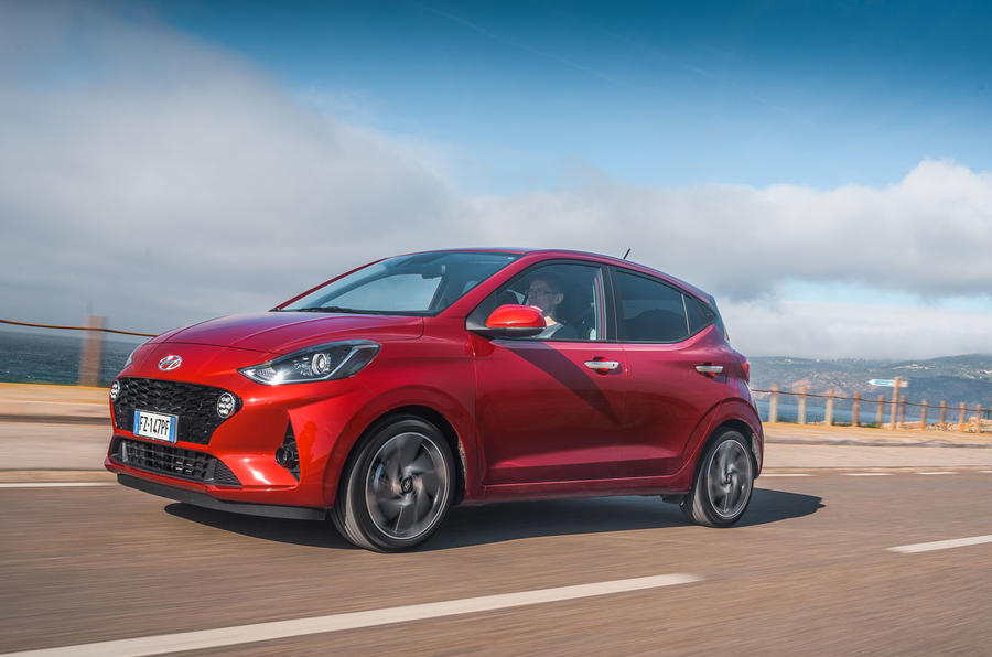 Hyundai i10 2020 first drive review - hero front