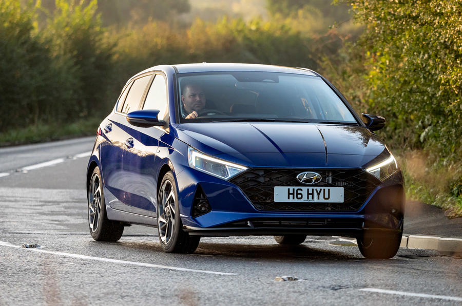 Hyundai i20 2020 UK first drive review - hero front