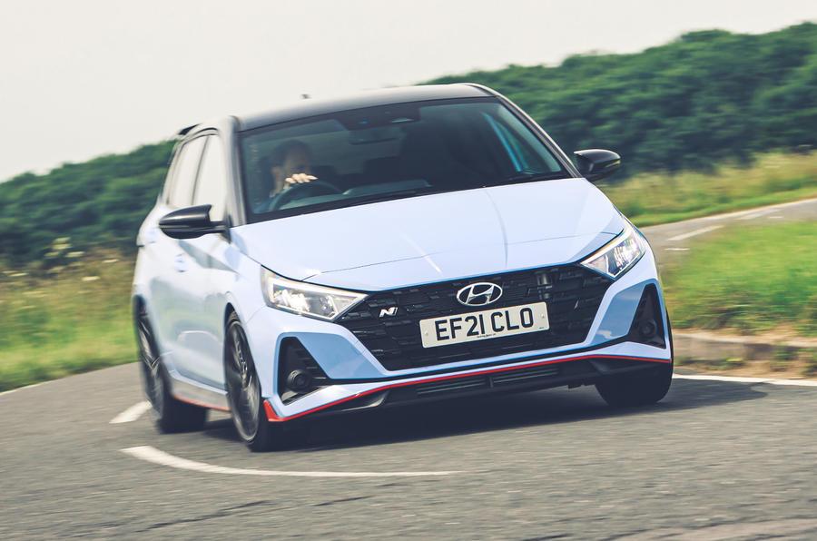 1 Hyundai i20N 2021 RHD UE FD hero avant