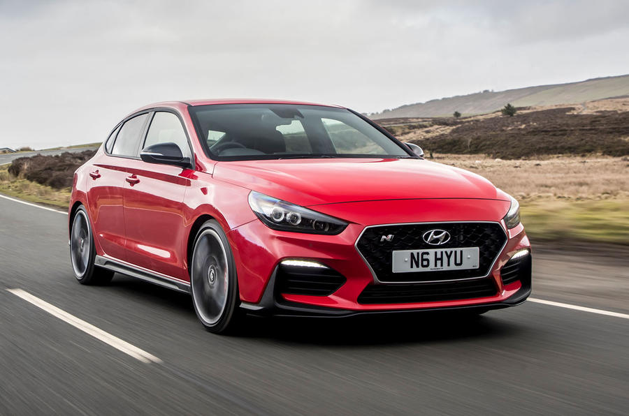 Hyundai i30 Fastback N 2019 UK first drive review - hero front