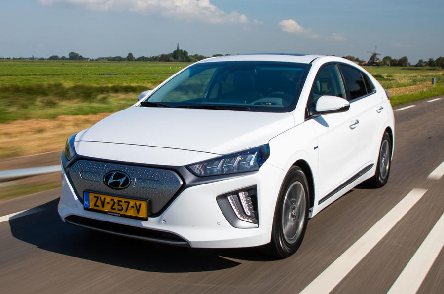 Hyundai Ioniq Electric 2019 first drive review - hero front