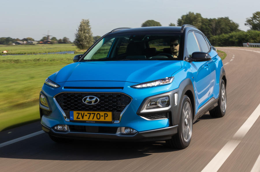 hyundai kona hybrid premium se 2019 review autocar. Black Bedroom Furniture Sets. Home Design Ideas