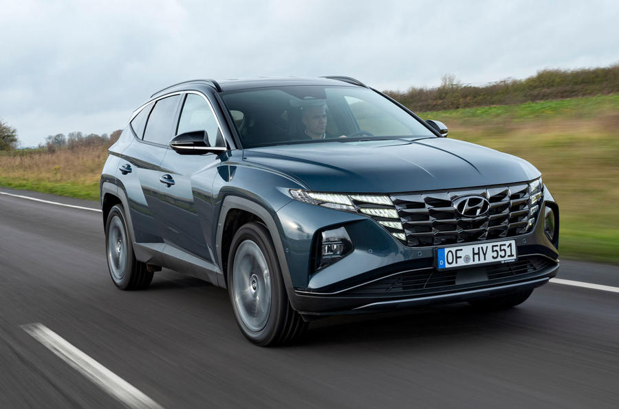 Hyundai Tucson 2020 UK first drive review - hero front