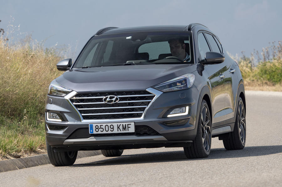 Hyundai Tucson 2.0 CRDI 48v 2018 first drive review hero front