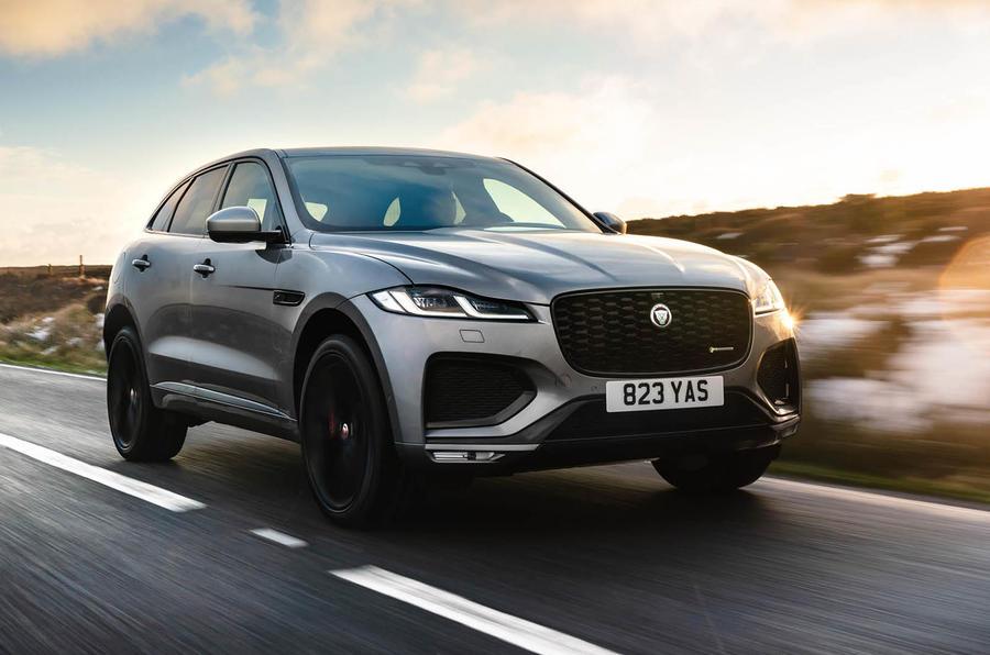1 Jaguar F Pace 2021 : le Royaume-Uni passe en revue le front des héros
