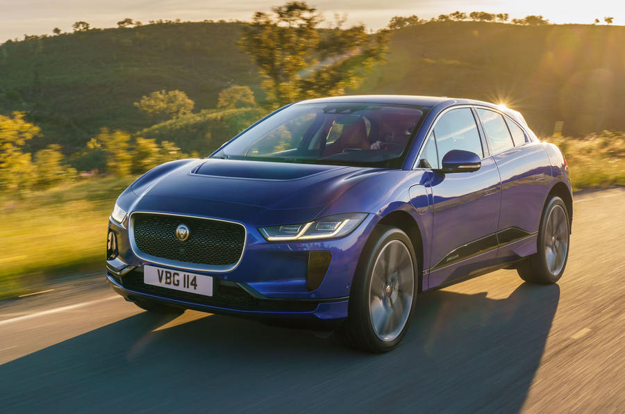 Jaguar I-Pace 2018 review hero front