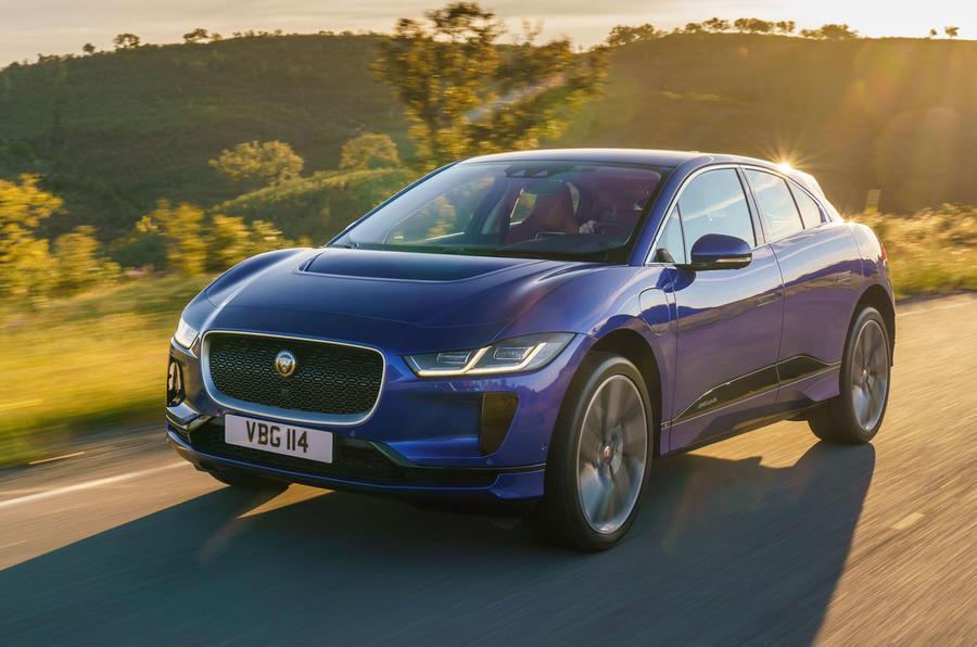 Jaguar I-Pace 2018 review hero front