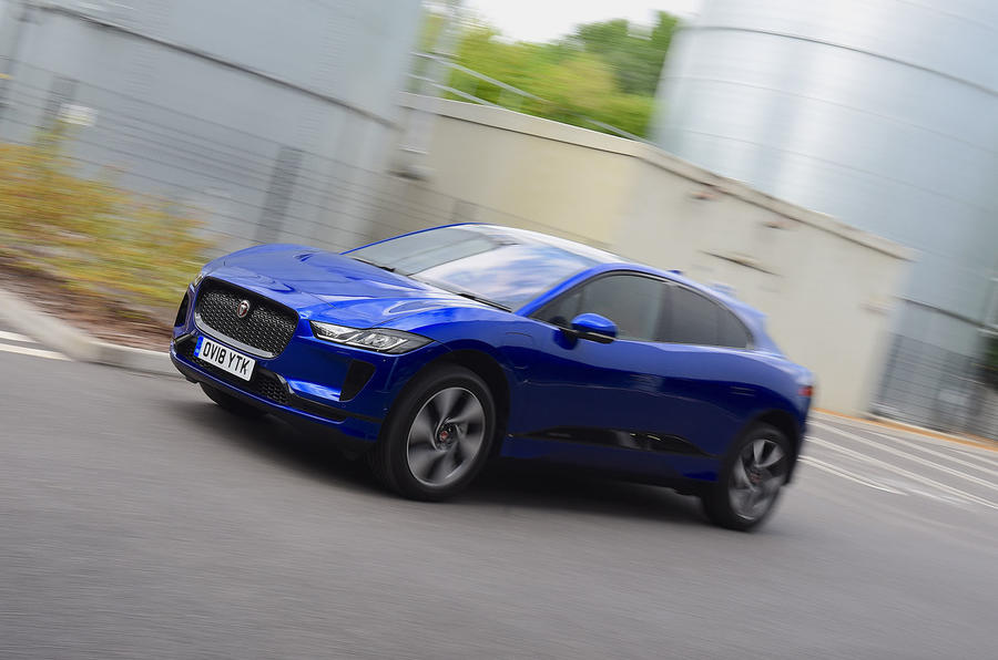 Jaguar I-Pace EV400 UK first drive review hero front