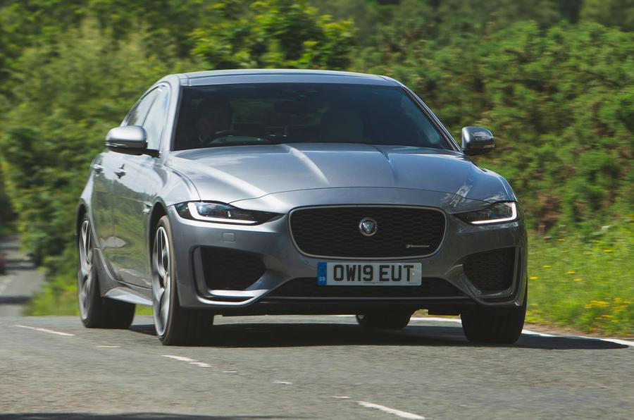 Jaguar XE P300 2019 UK first drive review - hero front