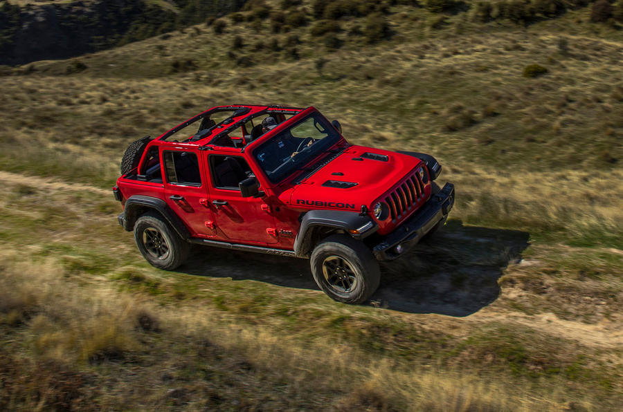 Jeep Wrangler (JL) Unlimited Rubicon 2018 review hero front