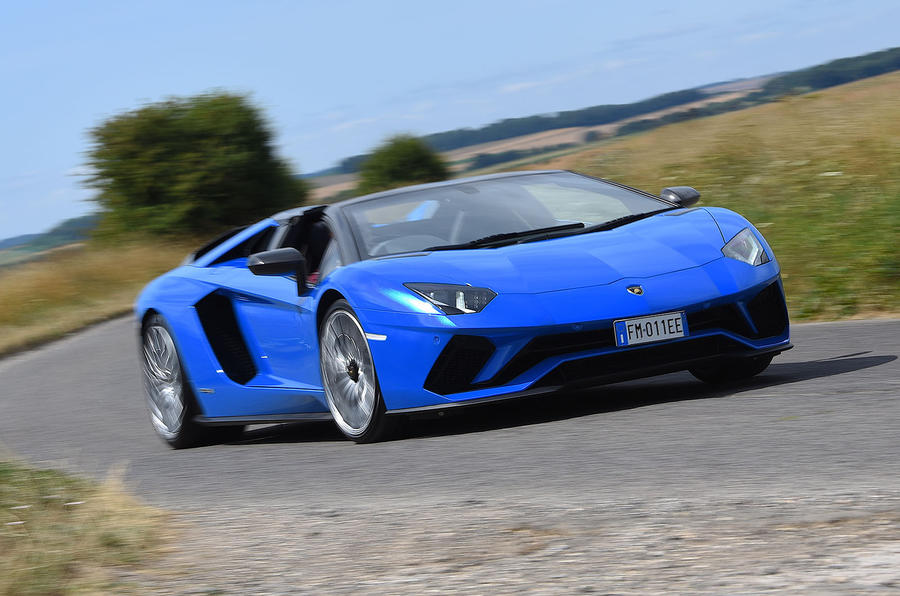 Lamborghini Aventador S 2018 first drive review hero front