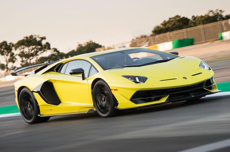 Lamborghini Aventador SVJ 2018 first drive review hero front