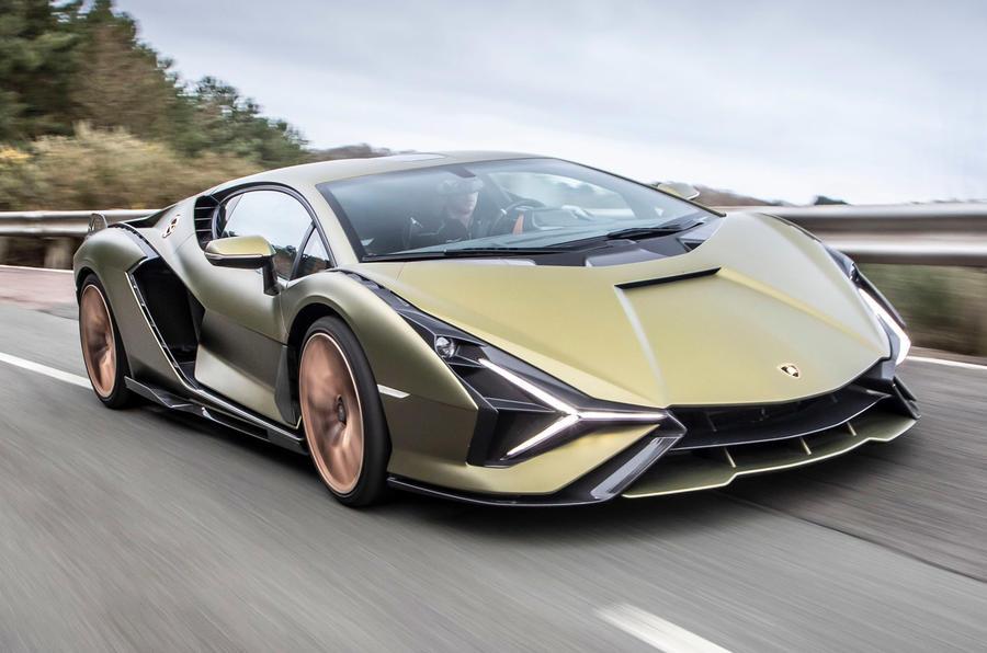 1 Lamborghini Sian 2021 : le premier bilan de la conduite au Royaume-Uni